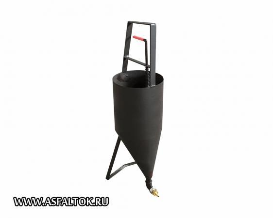Лейка-котелок для заливки дорожных швов ПКЗ-10
