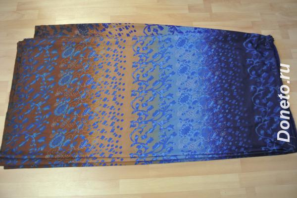 Ткань платьевая типа крепдешин или шифон