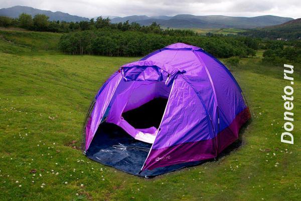 Палатки и снарежение в аренду в Сочи