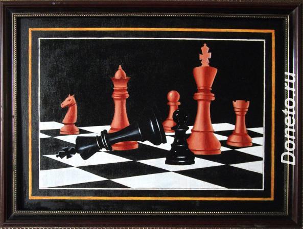 Шахматы в живописи 1.