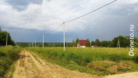 Продается половина земельного участка 25 соток в Елгозино