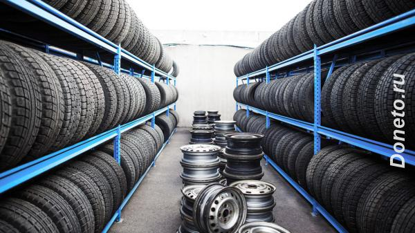 Сезонное хранение шин колес