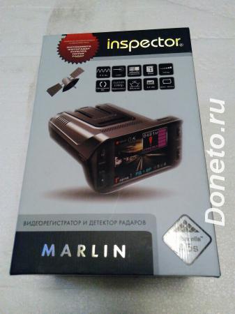 Видеорегистратор радар-детектор INSPECTOR MARLIN
