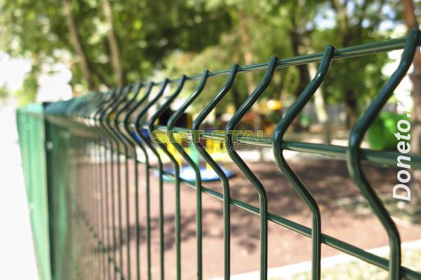 Забор из 3Д панелей