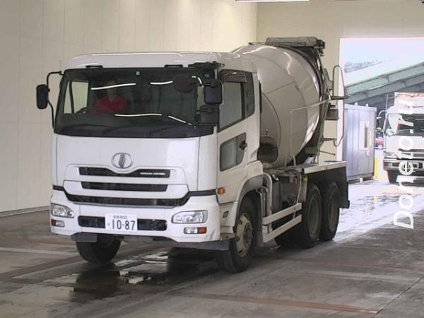 Автобетоносмеситель Nissan Truck кузов CW4XL