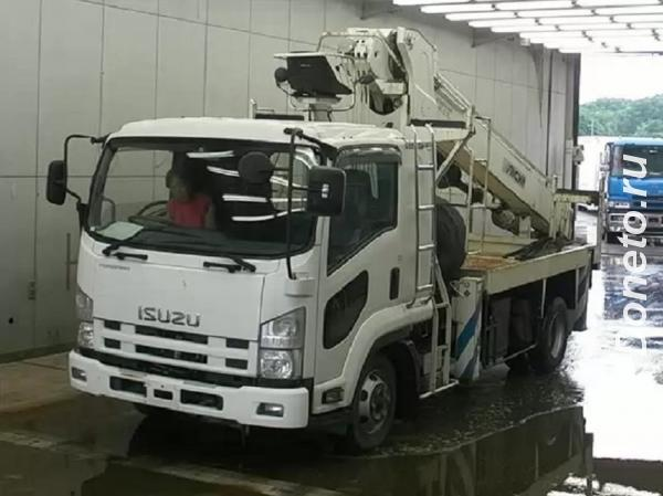 Isuzu Forward кран ямобур